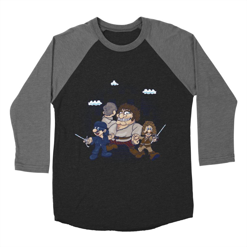 Have Fun Stormin' the Castle Men's Baseball Triblend T-Shirt by doodleheaddee's Artist Shop