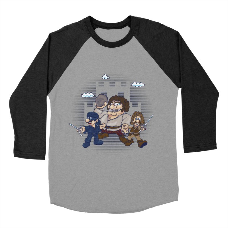 Have Fun Stormin' the Castle Men's Baseball Triblend Longsleeve T-Shirt by doodleheaddee's Artist Shop