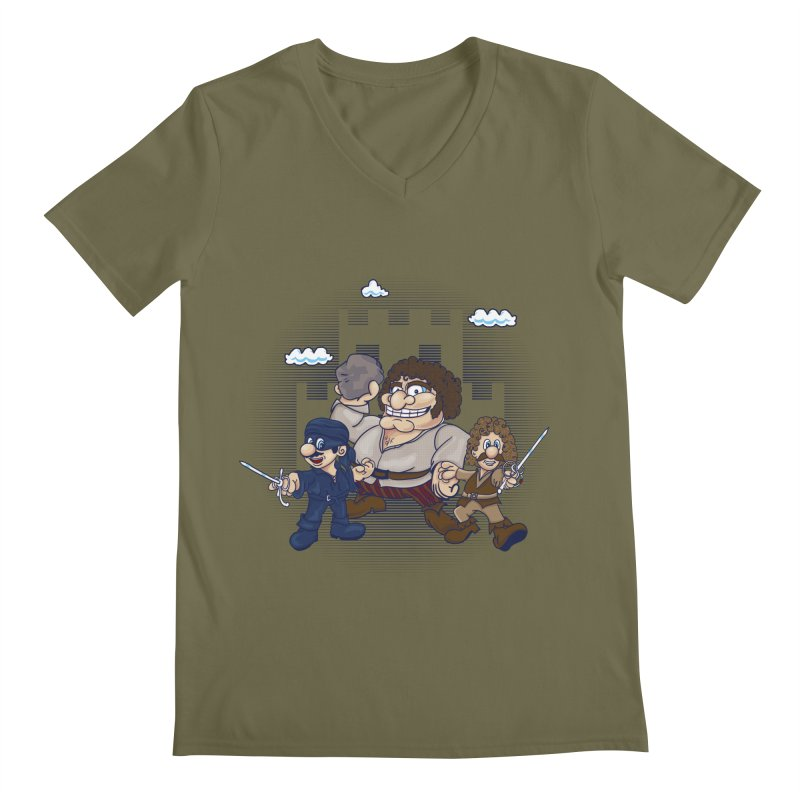 Have Fun Stormin' the Castle Men's V-Neck by doodleheaddee's Artist Shop