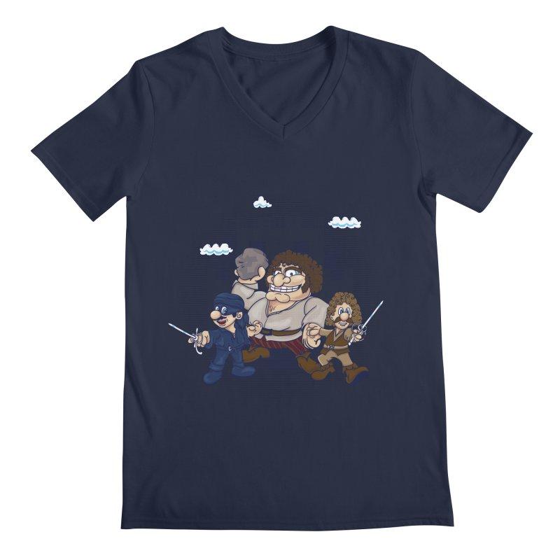 Have Fun Stormin' the Castle Men's V-Neck by doodleheaddee's Artist Shop