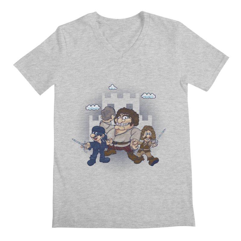 Have Fun Stormin' the Castle Men's Regular V-Neck by doodleheaddee's Artist Shop