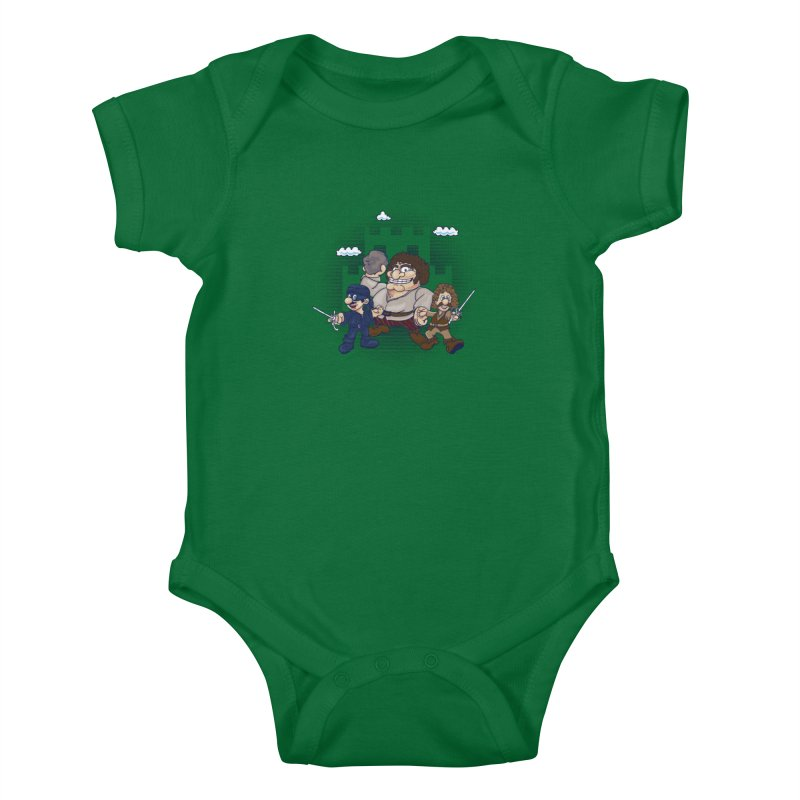 Have Fun Stormin' the Castle Kids Baby Bodysuit by doodleheaddee's Artist Shop
