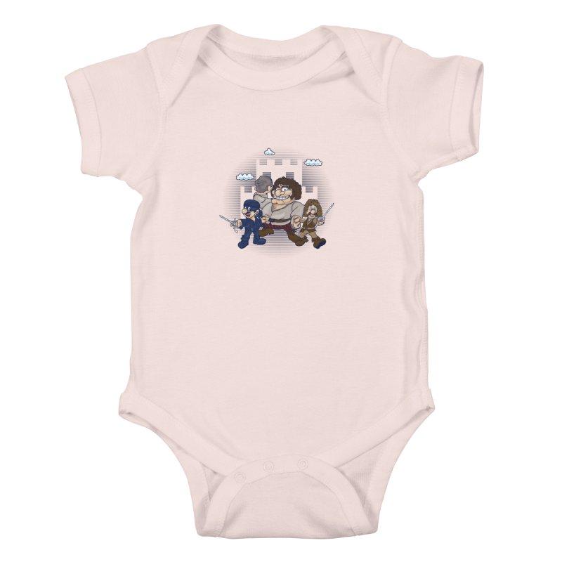 Have Fun Stormin' the Castle Kids Baby Bodysuit by doodleheaddee's Artist Shop