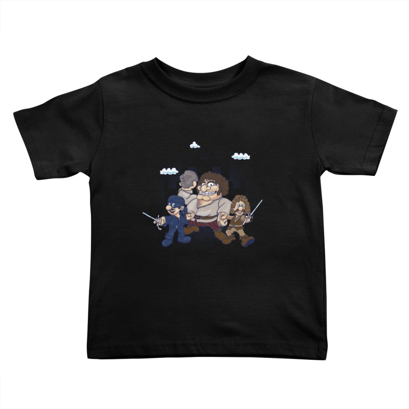 Have Fun Stormin' the Castle Kids Toddler T-Shirt by doodleheaddee's Artist Shop