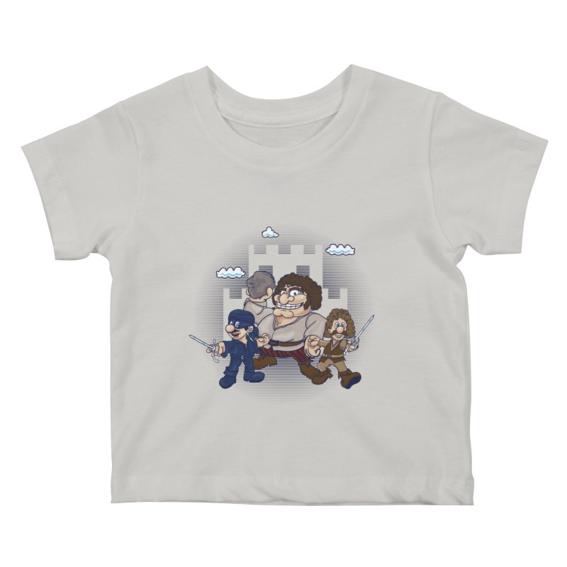 Have Fun Stormin' the Castle Kids Baby T-Shirt by doodleheaddee's Artist Shop