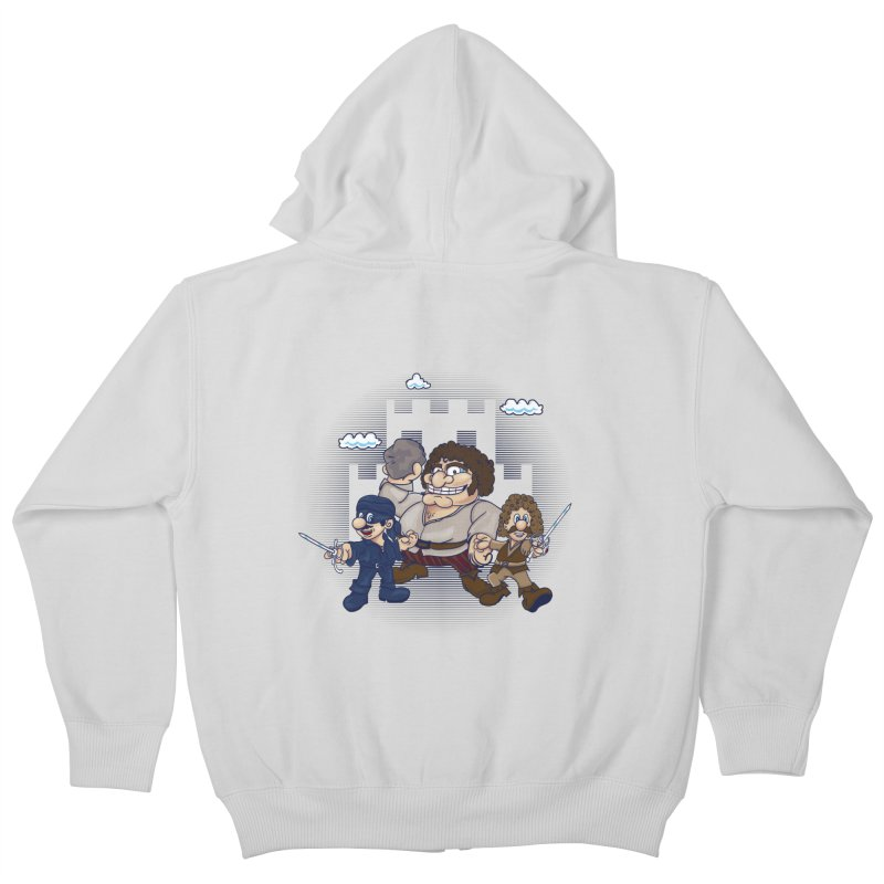 Have Fun Stormin' the Castle Kids Zip-Up Hoody by doodleheaddee's Artist Shop