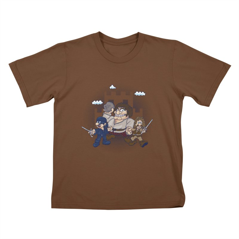 Have Fun Stormin' the Castle Kids T-shirt by doodleheaddee's Artist Shop