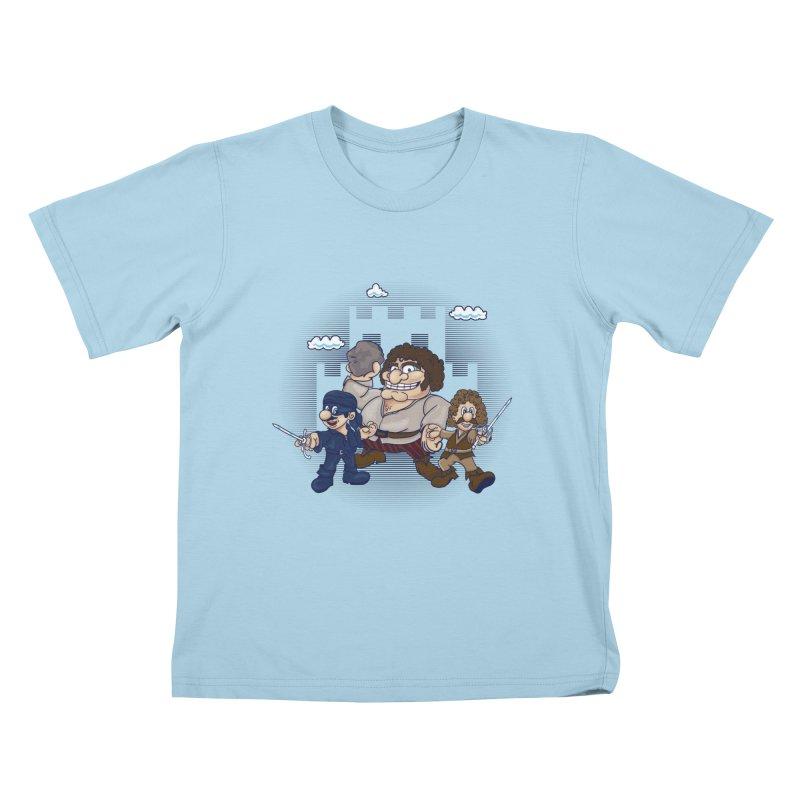 Have Fun Stormin' the Castle Kids T-shirt by doodleheaddee's Artist Shop