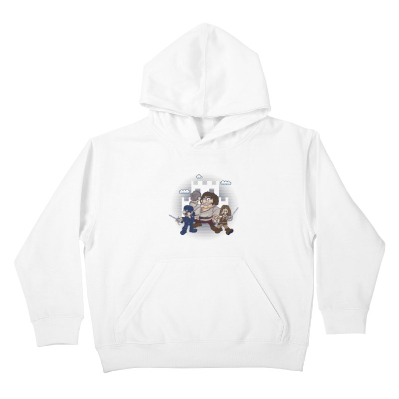 Have Fun Stormin' the Castle Kids Pullover Hoody by doodleheaddee's Artist Shop