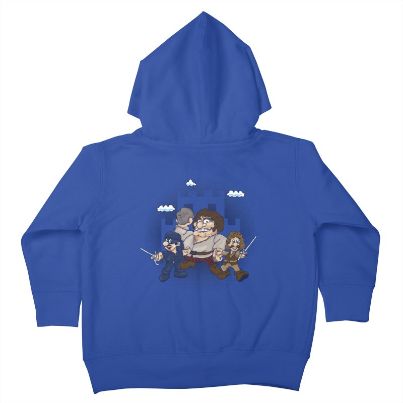 Have Fun Stormin' the Castle Kids Toddler Zip-Up Hoody by doodleheaddee's Artist Shop