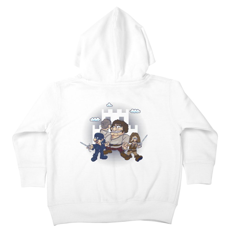 Have Fun Stormin' the Castle Kids Toddler Zip-Up Hoody by doodleheaddee's Artist Shop