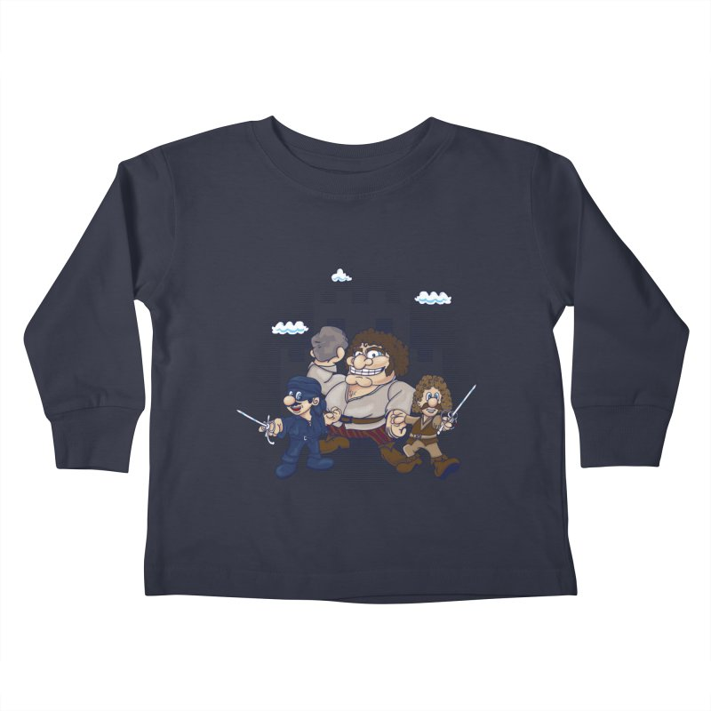 Have Fun Stormin' the Castle Kids Toddler Longsleeve T-Shirt by doodleheaddee's Artist Shop