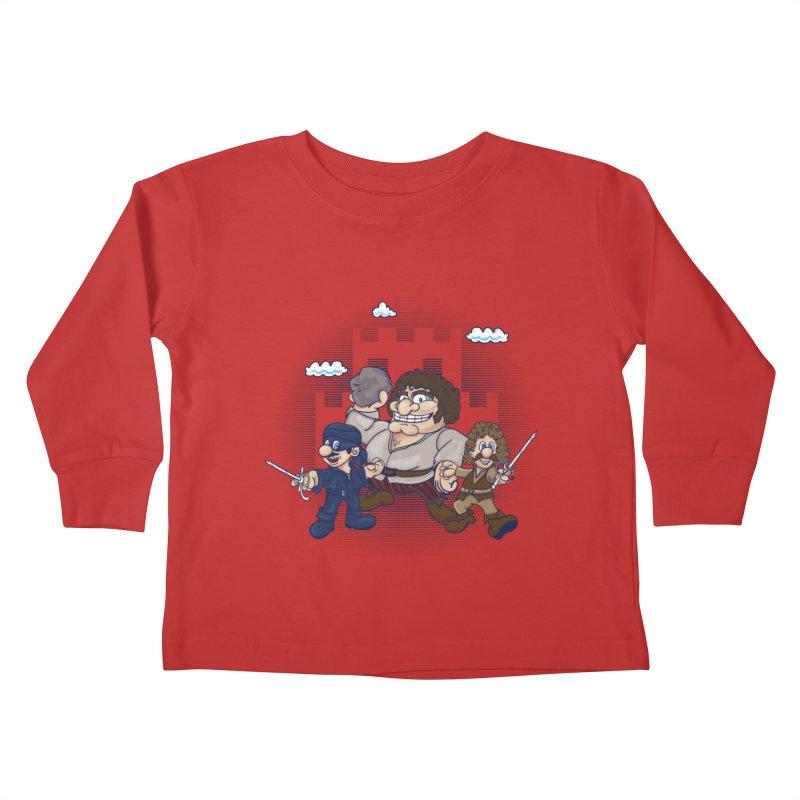 Have Fun Stormin' the Castle Kids Toddler Longsleeve T-Shirt by doodleheaddee's Artist Shop