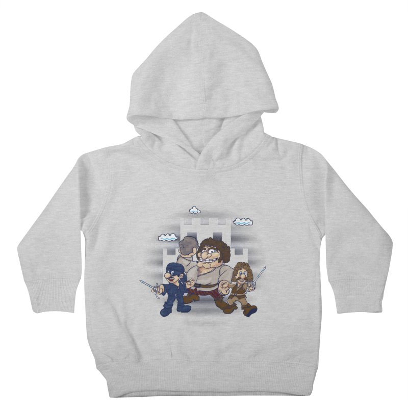 Have Fun Stormin' the Castle Kids Toddler Pullover Hoody by doodleheaddee's Artist Shop