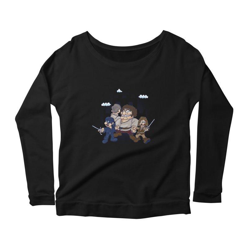 Have Fun Stormin' the Castle Women's Scoop Neck Longsleeve T-Shirt by doodleheaddee's Artist Shop