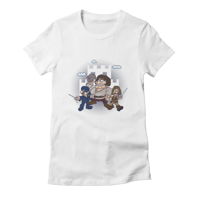 Have Fun Stormin' the Castle Women's Fitted T-Shirt by doodleheaddee's Artist Shop