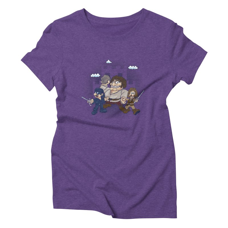 Have Fun Stormin' the Castle Women's Triblend T-Shirt by doodleheaddee's Artist Shop