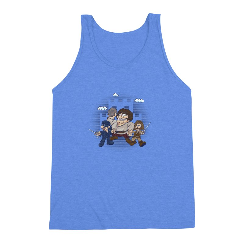 Have Fun Stormin' the Castle Men's Triblend Tank by doodleheaddee's Artist Shop