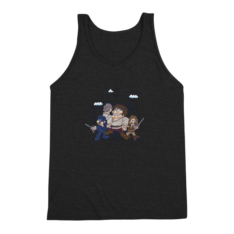 Have Fun Stormin' the Castle Men's Triblend Tank by doodleheaddee's Artist Shop