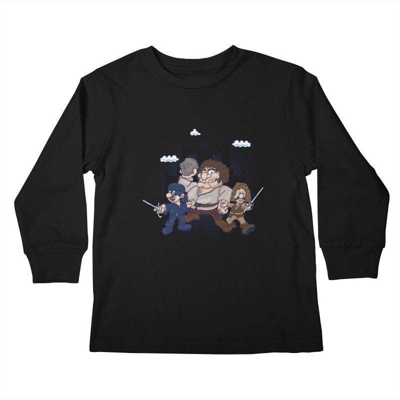 Have Fun Stormin' the Castle Kids Longsleeve T-Shirt by doodleheaddee's Artist Shop