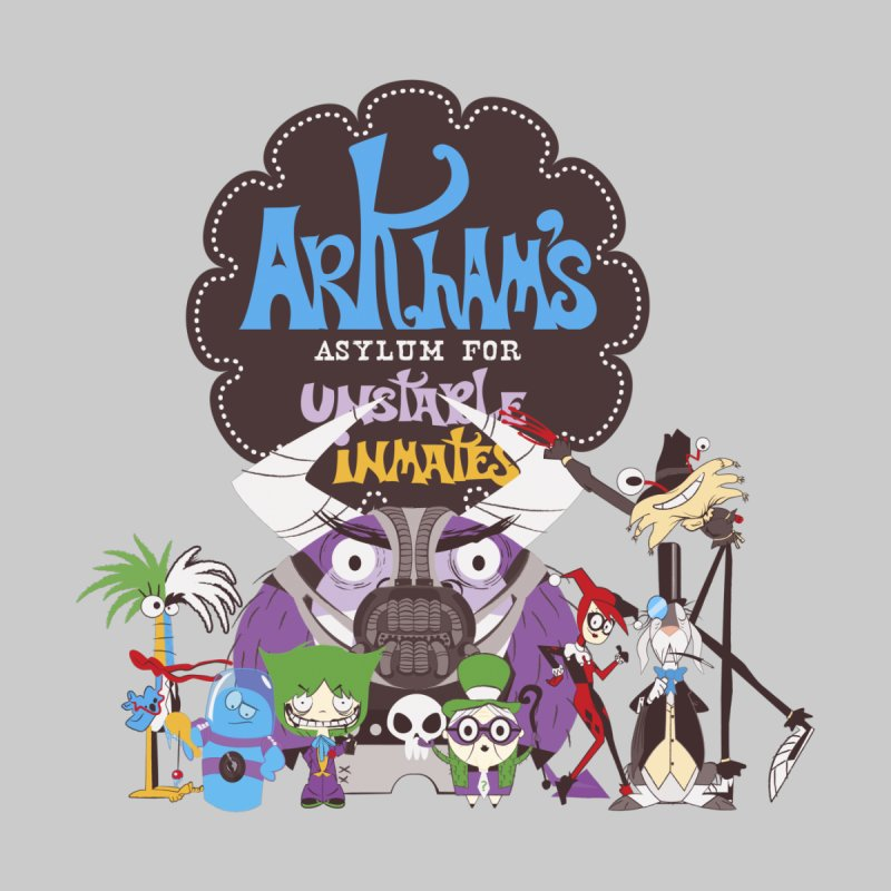 ARKHAM'S ASYLUM FOR UNSTABLE INMATES by doodleheaddee's Artist Shop