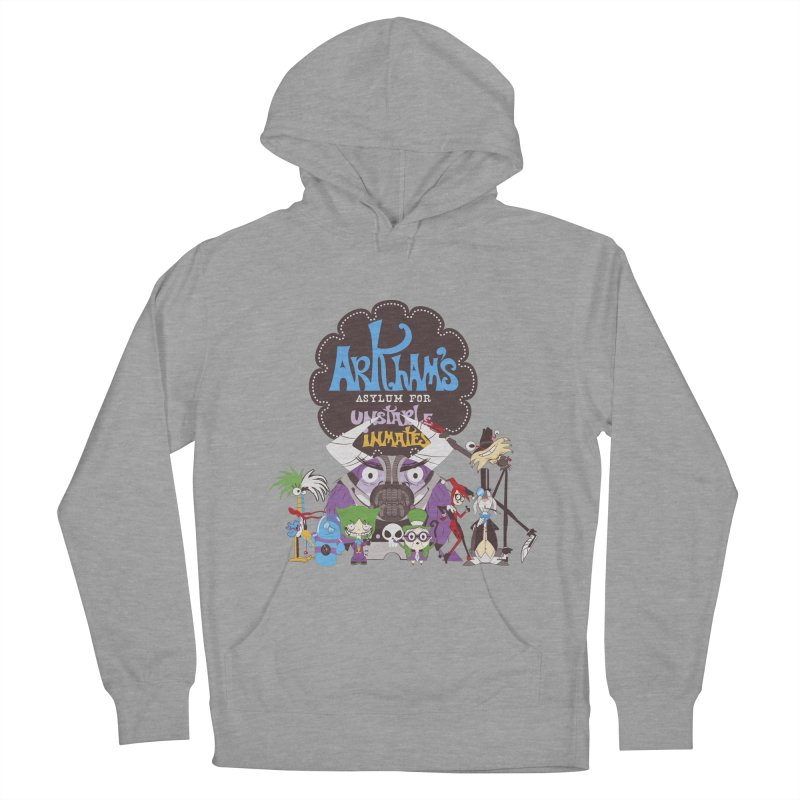 ARKHAM'S ASYLUM FOR UNSTABLE INMATES Men's Pullover Hoody by doodleheaddee's Artist Shop