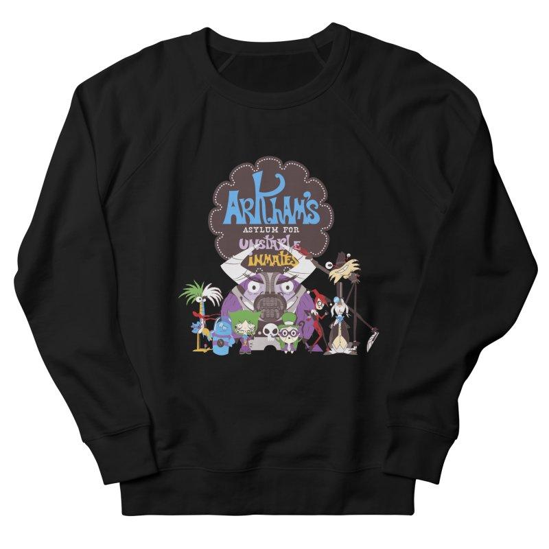 ARKHAM'S ASYLUM FOR UNSTABLE INMATES Men's Sweatshirt by doodleheaddee's Artist Shop