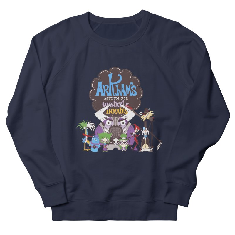 ARKHAM'S ASYLUM FOR UNSTABLE INMATES Men's Sweatshirt by doodleheaddee's Artist Shop