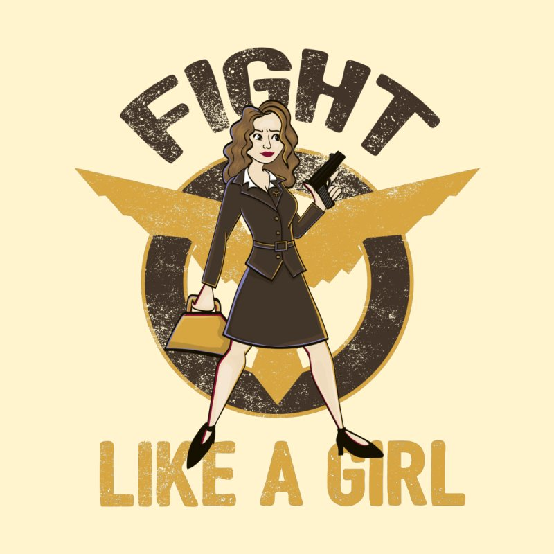 Fight Like A Girl None  by doodleheaddee's Artist Shop