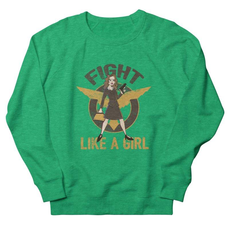 Fight Like A Girl Men's Sweatshirt by doodleheaddee's Artist Shop