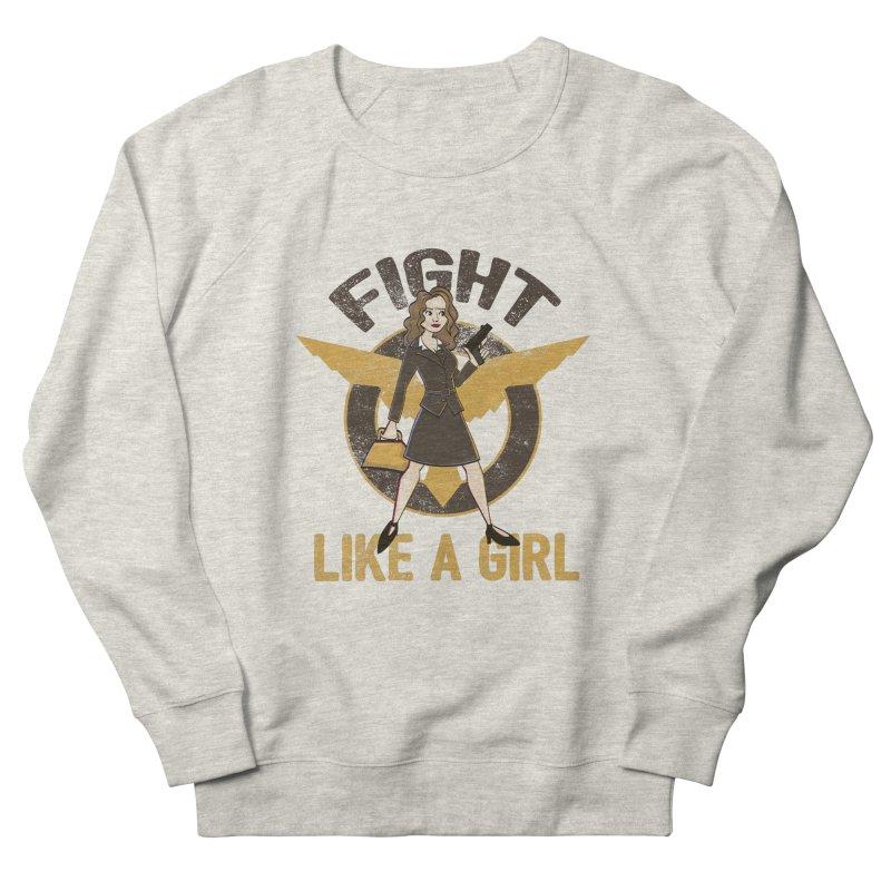 Fight Like A Girl Men's French Terry Sweatshirt by doodleheaddee's Artist Shop