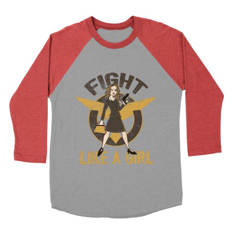 Fight Like A Girl Women's Longsleeve T-Shirt by doodleheaddee's Artist Shop