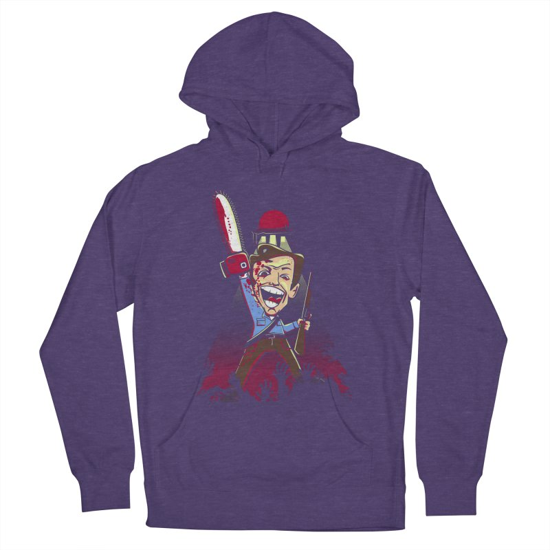 This is my Chainsaw Women's French Terry Pullover Hoody by doodleheaddee's Artist Shop