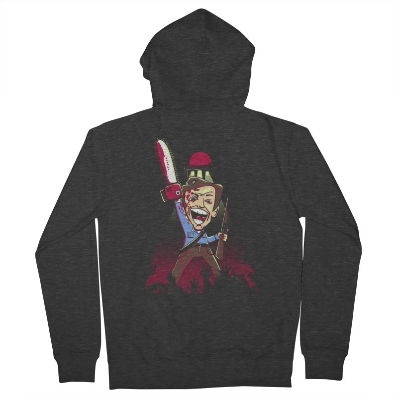 This is my Chainsaw Women's Zip-Up Hoody by doodleheaddee's Artist Shop