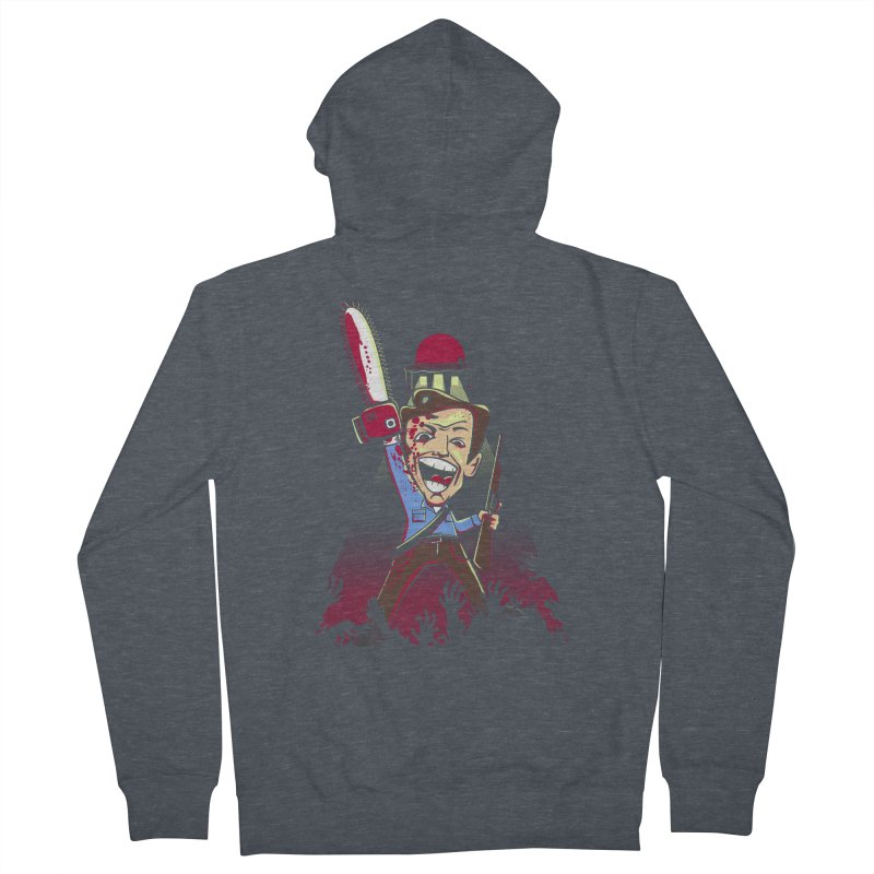 This is my Chainsaw Women's French Terry Zip-Up Hoody by doodleheaddee's Artist Shop