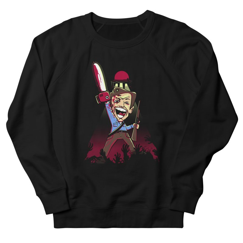 This is my Chainsaw Women's French Terry Sweatshirt by doodleheaddee's Artist Shop