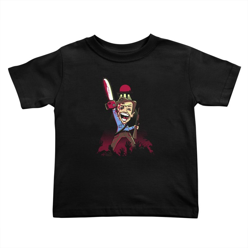 This is my Chainsaw Kids Toddler T-Shirt by doodleheaddee's Artist Shop