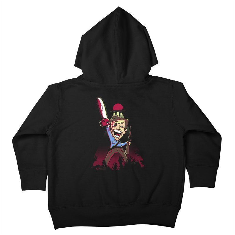 This is my Chainsaw Kids Toddler Zip-Up Hoody by doodleheaddee's Artist Shop