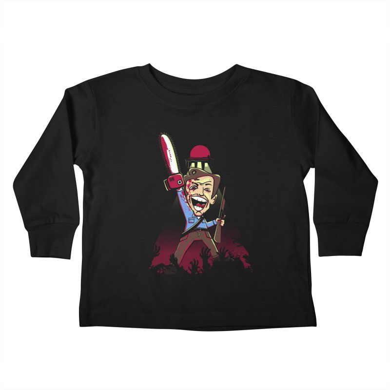This is my Chainsaw Kids Toddler Longsleeve T-Shirt by doodleheaddee's Artist Shop