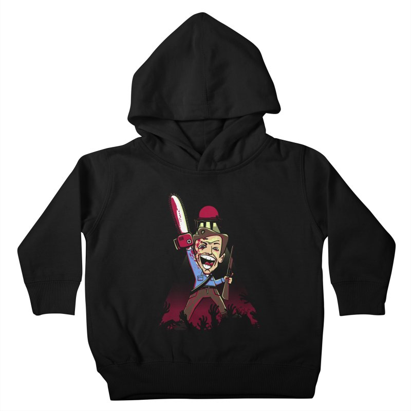 This is my Chainsaw Kids Toddler Pullover Hoody by doodleheaddee's Artist Shop