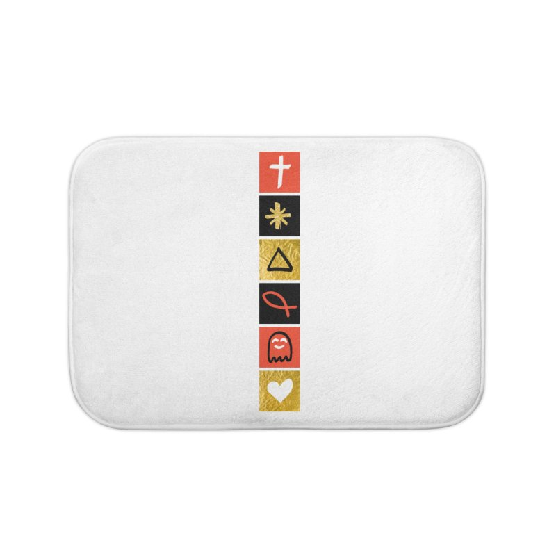That Life Home Bath Mat by Doodles Invigorate's Artist Shop
