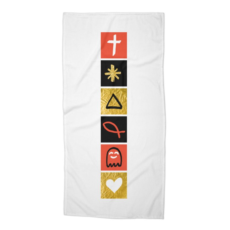 That Life Accessories Beach Towel by Doodles Invigorate's Artist Shop
