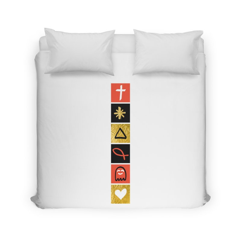That Life Home Duvet by Doodles Invigorate's Artist Shop