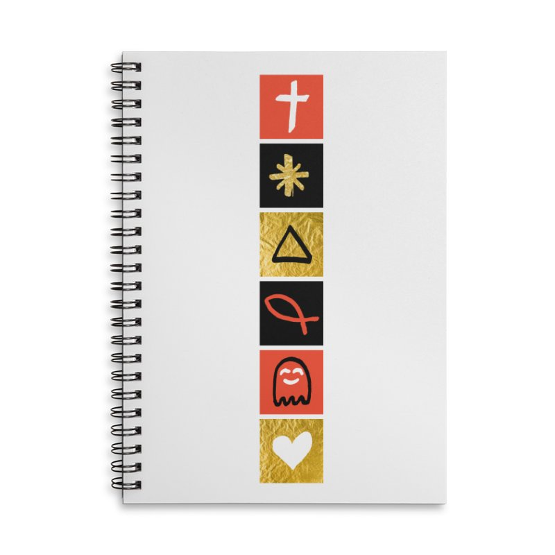 That Life Accessories Lined Spiral Notebook by Doodles Invigorate's Artist Shop
