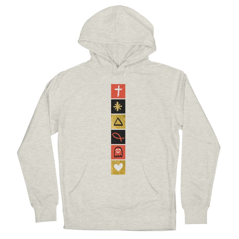 That Life in Men's French Terry Pullover Hoody Heather Oatmeal by Doodles Invigorate's Artist Shop
