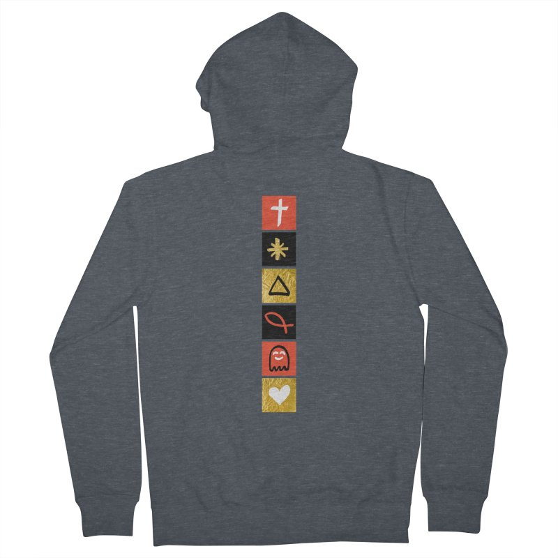 That Life Women's French Terry Zip-Up Hoody by Doodles Invigorate's Artist Shop