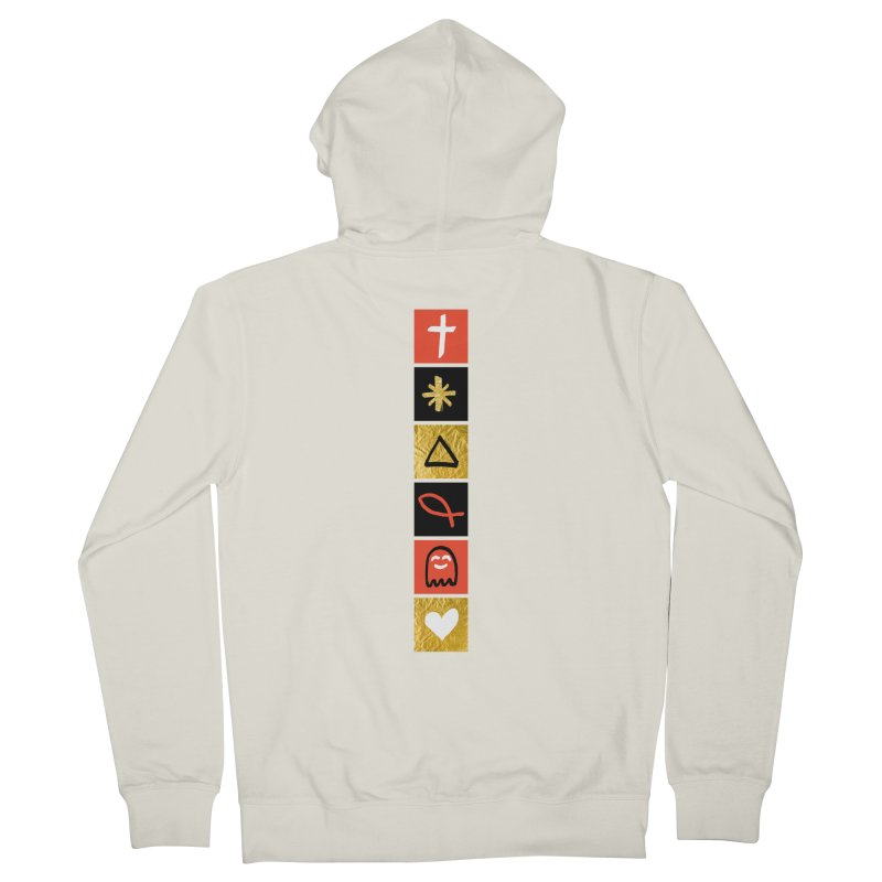 That Life Men's French Terry Zip-Up Hoody by Doodles Invigorate's Artist Shop