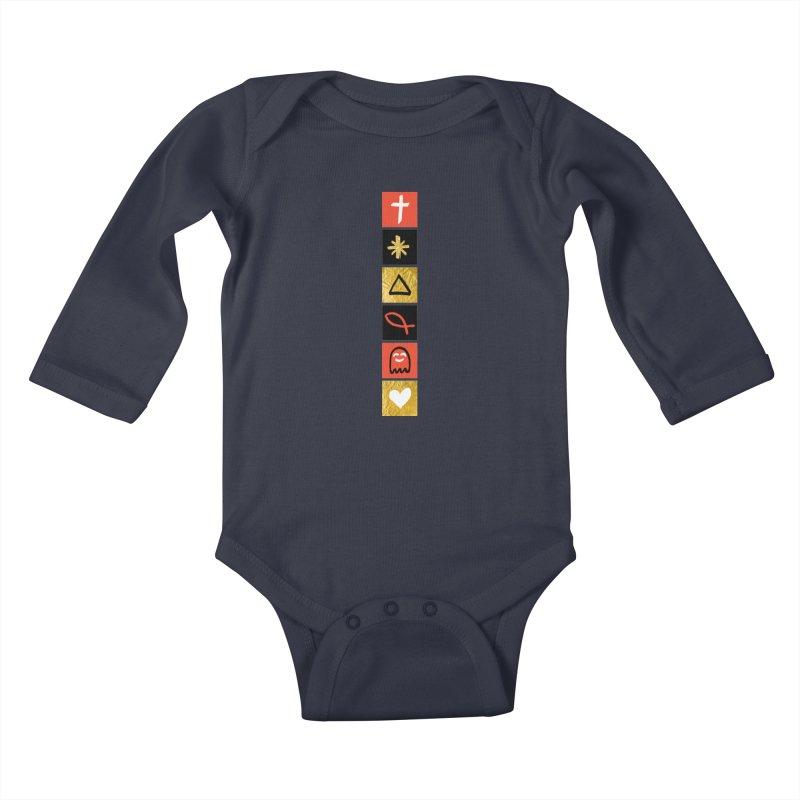 That Life Kids Baby Longsleeve Bodysuit by Doodles Invigorate's Artist Shop