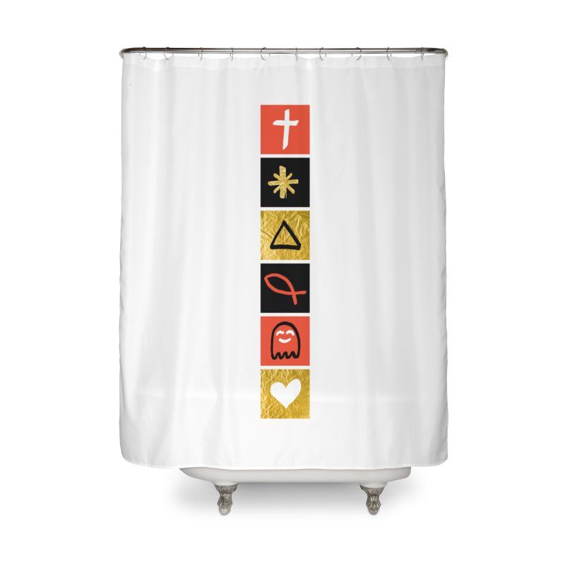 That Life Home Shower Curtain by Doodles Invigorate's Artist Shop