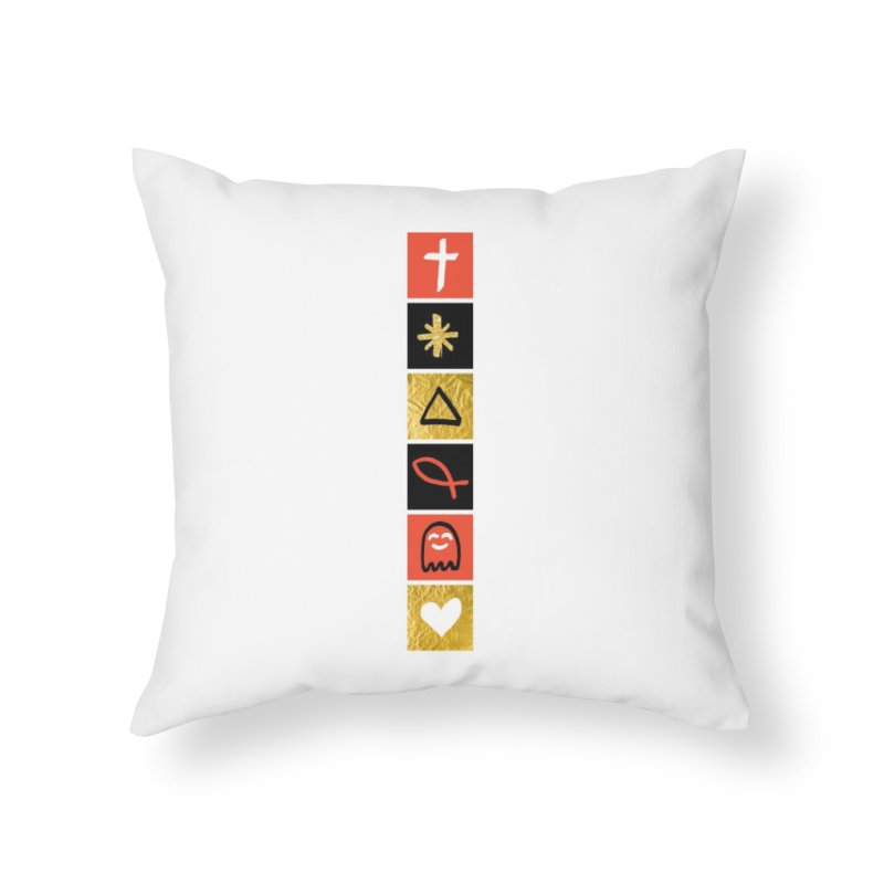 That Life Home Throw Pillow by Doodles Invigorate's Artist Shop